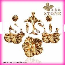 Wholesale african 18 carat gold jewelry sets