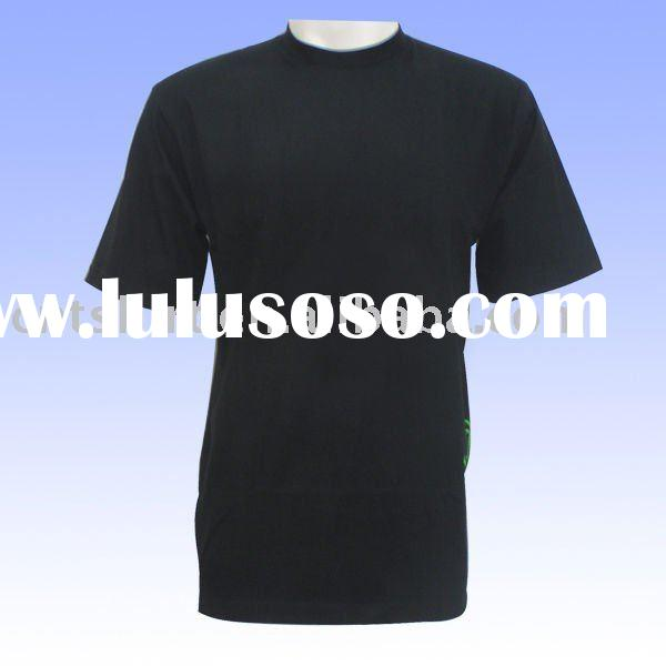 Wholesale blank t shirts with 100% Cotton