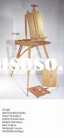 Wooden Sketch Box Easel(Studio Easel French Easel)