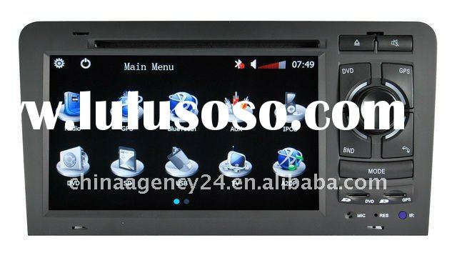 audi A3/S3(2003-2011) 7.0 inch Digital screen/DVD/BT/TV/FM/IPOD/RDS/GPS/CAN BUS air conditioner agre