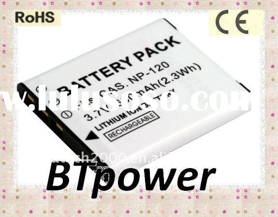camera battery for Casio NP120