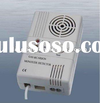 carbon monoxide detector and gas detector alarm with high stability sensor and shut off valve