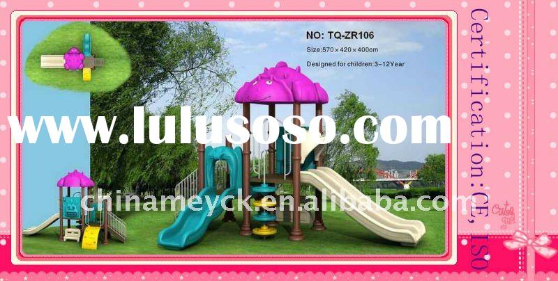 ce approved fantastic outdoor playground equipment TQ-ZR106 / hot sale outdoor playground