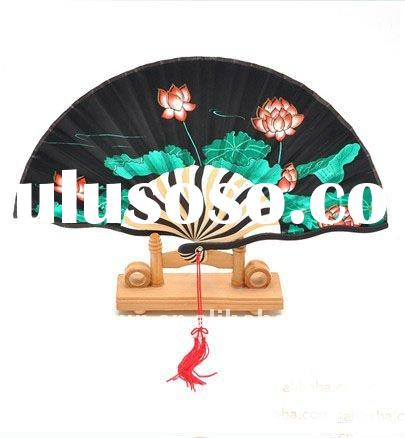 charmning fans, beautiful folding fans,making chinese fans