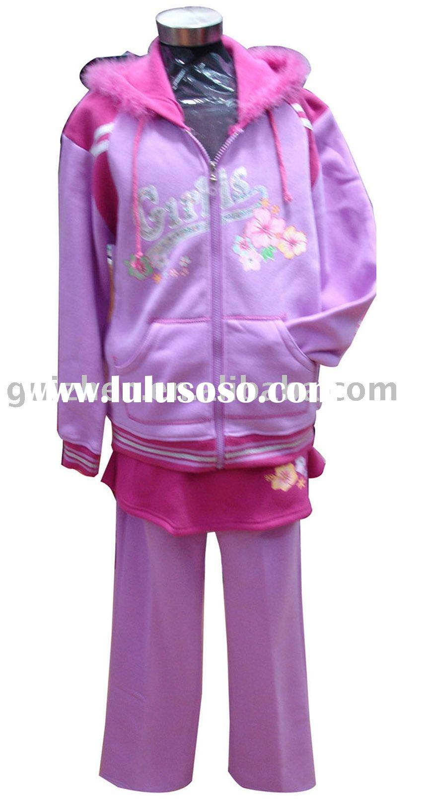 children's velour set 2pcs set