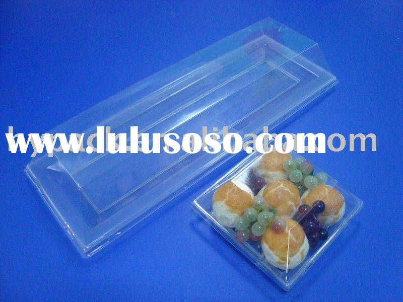 clear Plastic square Packaging Box