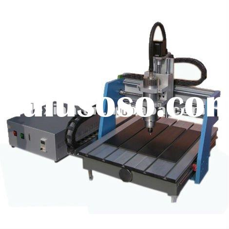 cnc router bit DX-A4040 with 1.5KW water cooling spindle and HIWIN rail