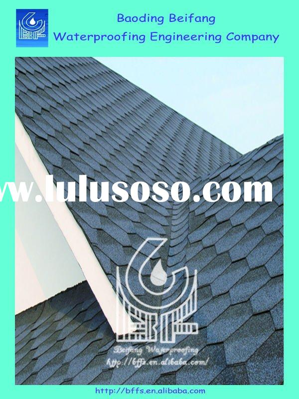 colorful waterproof bitumen roofing pavilion roofing material
