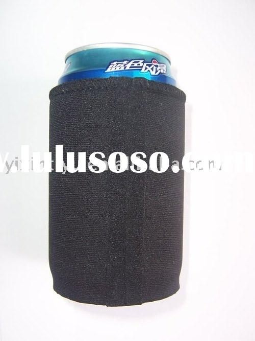 custom neoprene can cooler with melt tape can Koozie
