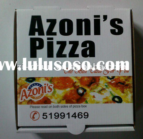 custom pizza box for sale
