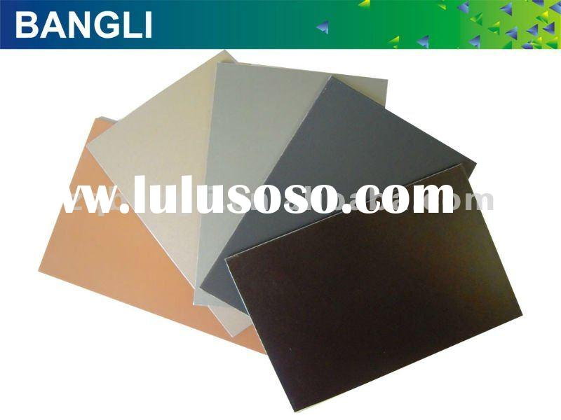 decorative material aluminium composite panel pvdf acp sheet