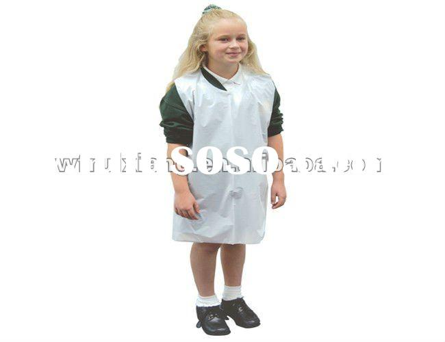 disposable plastic kids aprons wholesale