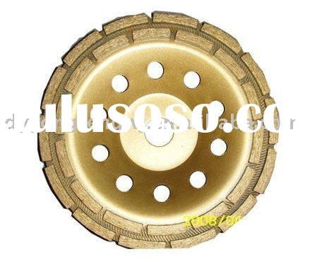 double row grinding wheel, diamond cup