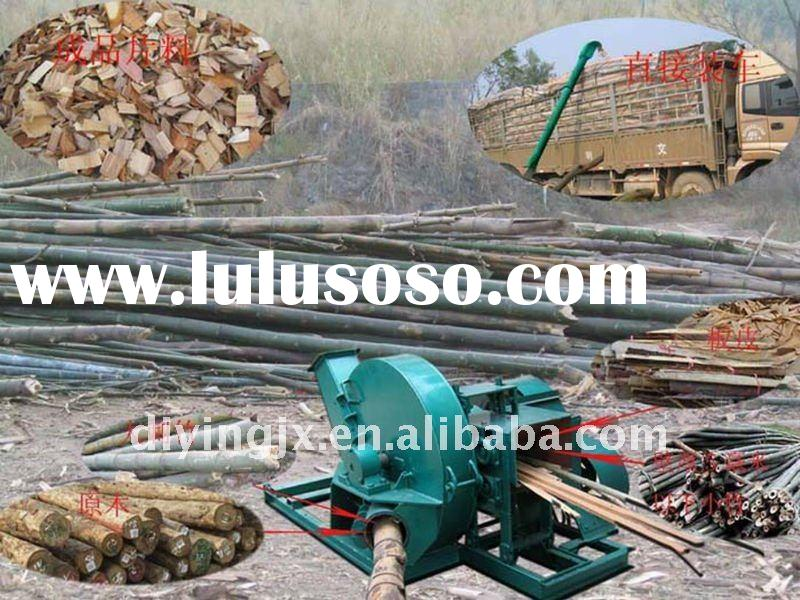 electric/diesel portable wood chipping machine 0086-15838257928