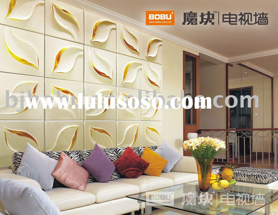 embossed 3d wall decorative panel home decoration