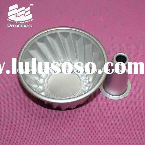 flower shape Aluminium Alloy Baking muffin cake Cup