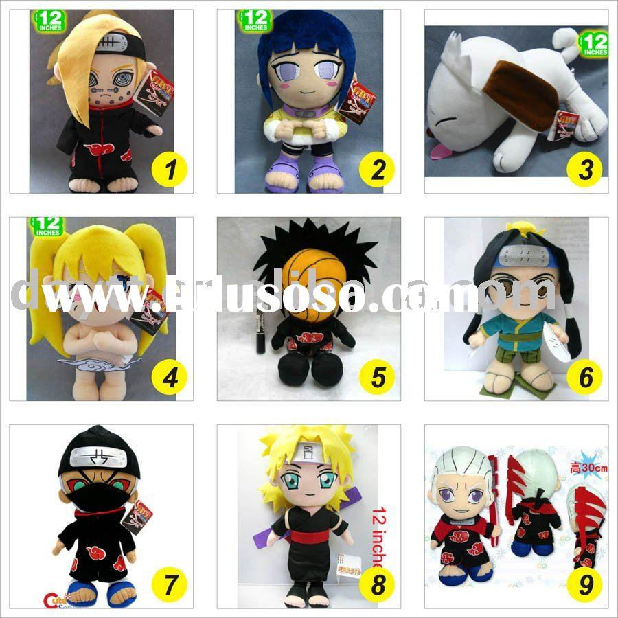 "free shipping new 12"" naruto plush doll toy gift, anime plush doll mix style EM004-1"