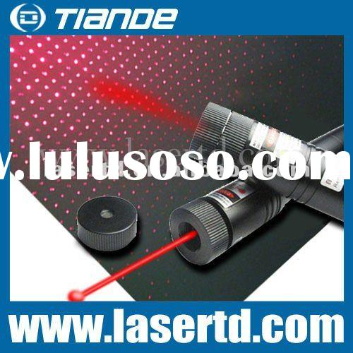 high power 200mw red laser pointer with a lock switch