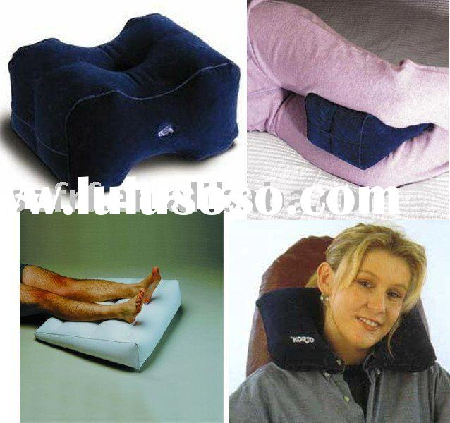 inflatable knee pillow,inflatable back rest pillow,inflatable leg rest pillow, inflatable neck pillo