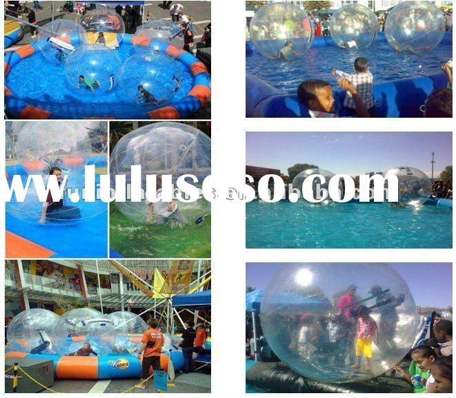 inflatable pool for water walking ball