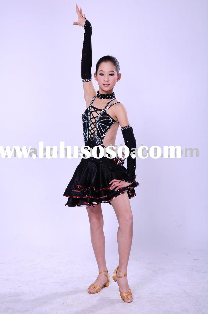 latin dance wear ballet tutu/classical adult's party dress/dancewear/stage costume/evening d