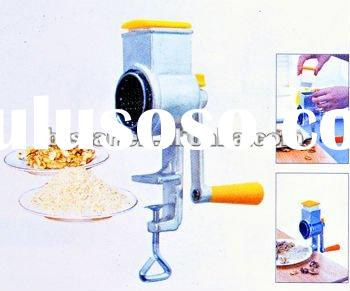 manual cast iron nut grater with clamp / mills