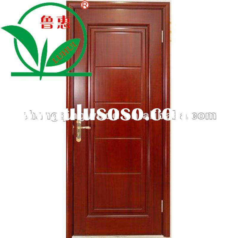 modern entry solid wood door design