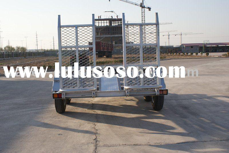 multifunctional truck trailer/camper trailer/farm trailer(low bed flat trailer)