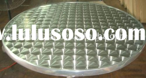 outdoor furniture stainless steel table top