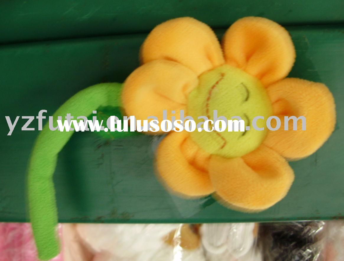 plush toy Small size sunflower plush&stuffed toys Fridge sticker;refrigerator magnet;fridge magn