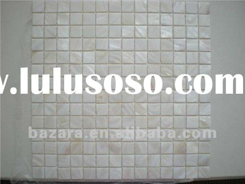 pure white mother of pearl mosaic tile