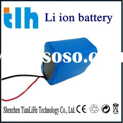 rechargeable lithium battery made by new battery cell