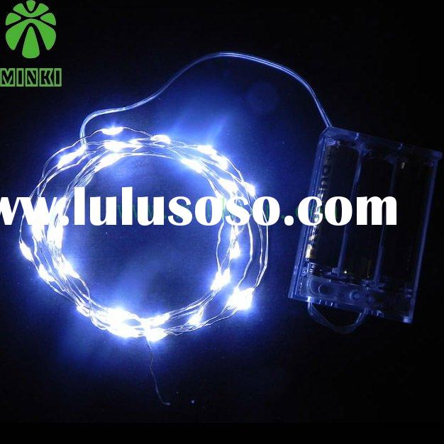 remote controlled led light string battery operated led light