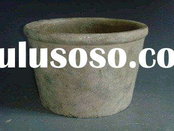 rustic style antique terracotta/pottery/ceramic flower pot,planter