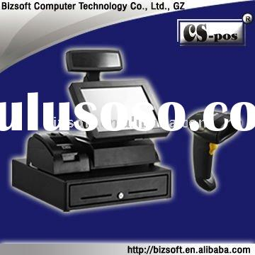 sales promotion NT-280A touch pos equipment/cash register with barcode scanner 2030 with holder