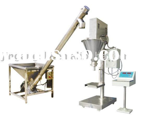 semi-automatic flowing powder packing machine / small granule filling and packing machine