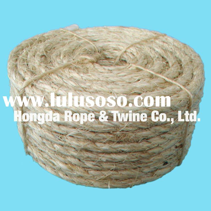 sisal fiber making sisal rope