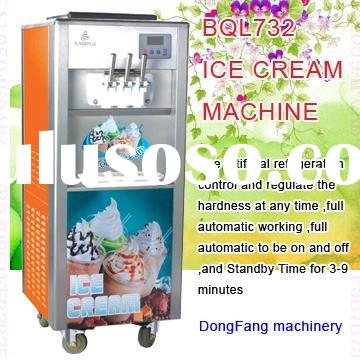 soft serve ice cream mix BingZhiLe732 ice cream
