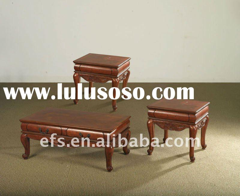 solid wood hand carved antique chinese end table(EFS-T-10)