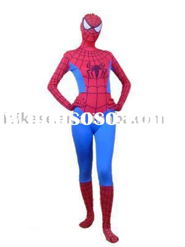 spider woman suit/ spider woman costume /spider man suit/ spider man costume/spandex spider man suit