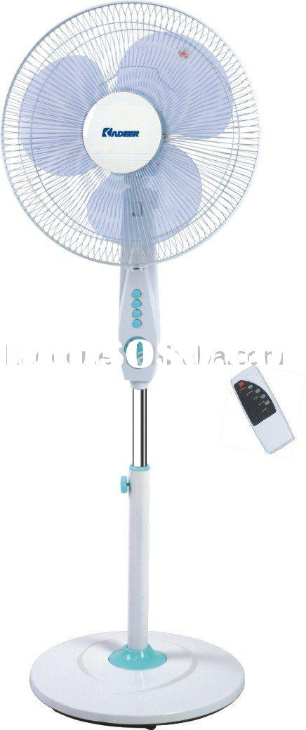 standing electric fan with remote control