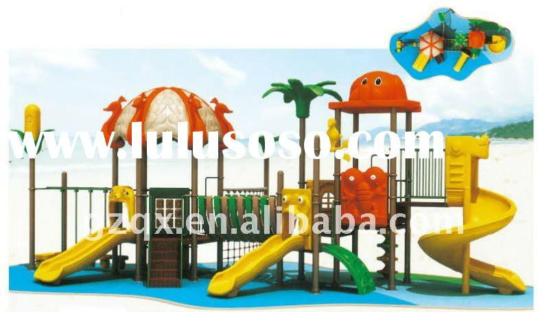 the new design outdoor playground slide amusement park equipment slide outdoor kids playground equip