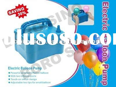 two nozzle Electric balloon air pump blower inflator