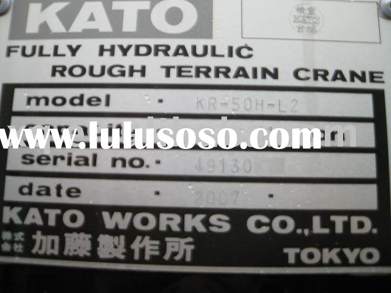 used rough terrain crane kato KR50H-L2(SL600-2) used rough terrain crane