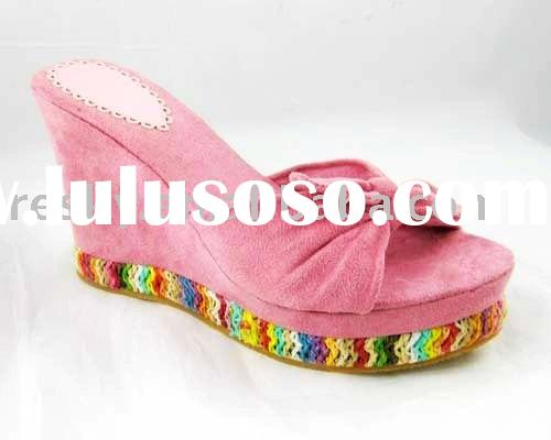 women slippers/fashion shoes/2009 new design
