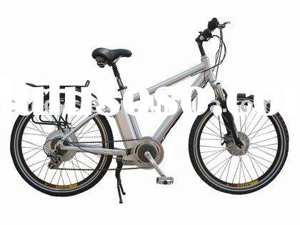 120km range electric bike with 700c wheel .
