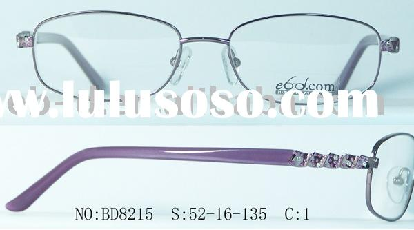2009 hot style and Italy design high quality Ladies metal eyeglasses frame