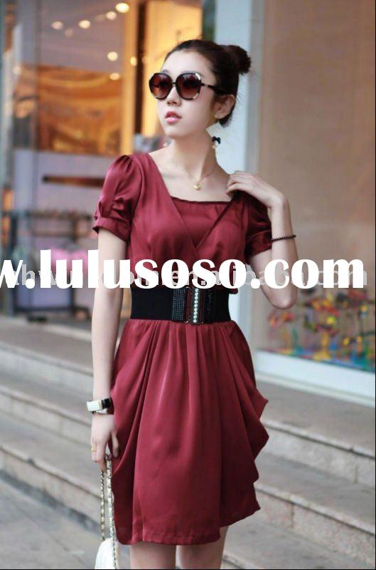 2011 europe and america fashion lady summer dresses