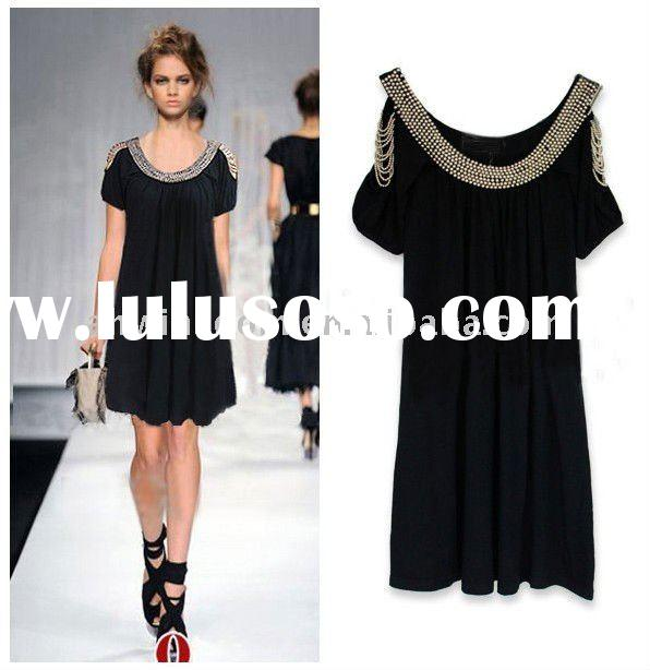 2011 europe fashion design womens summer dresses