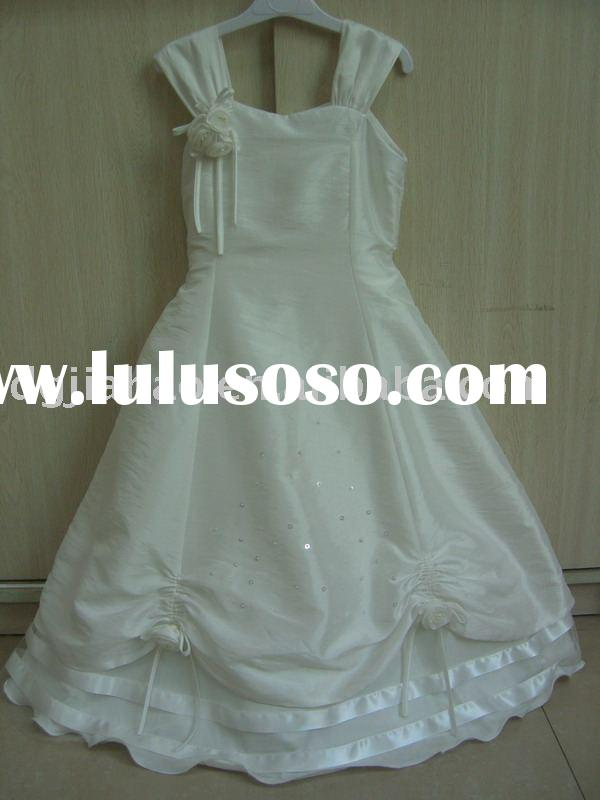 2011 latest design elegant children party dress H8031
